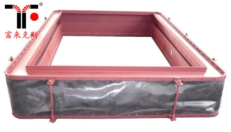 定制chu售硅胶布膨胀节 硅胶布软连接膨胀节