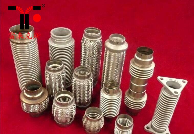 45*169mm汽che排系tongbo纹管挠xing节